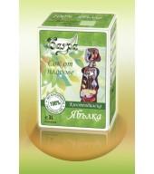 """100% студено пресован сок ябълка - кутия """"Bag&box"""" 3L"""