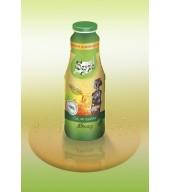 100% студено пресован сок ябълка, с леко кисел привкус - бутилка 1L