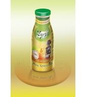 100% студено пресован сок ябълка, круша и дюля - бутилка 0,250 ml