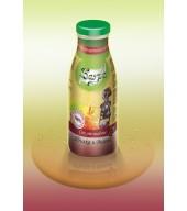 100% студено пресован сок ябълка и вишна - бутилка 0,250 ml