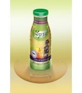 100% студено пресован сок ябълка и грозде - бутилка 0,250 ml