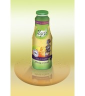 100% студено пресован сок ябълка и грозде - бутилка 1L