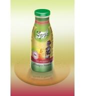 100% студено пресован сок ябълка и малина - бутилка 0,250 ml